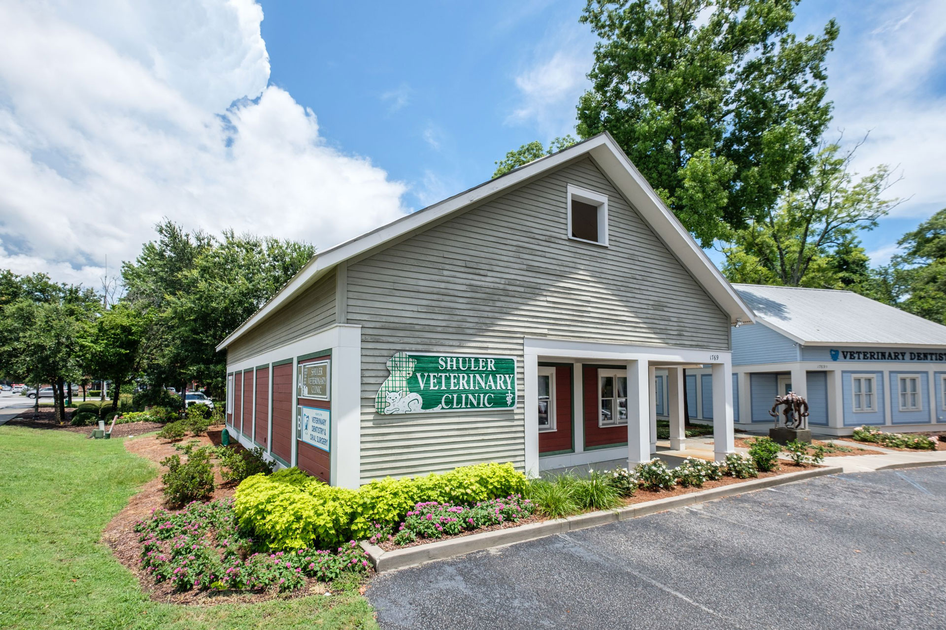 shuler veterinary clinic exterior